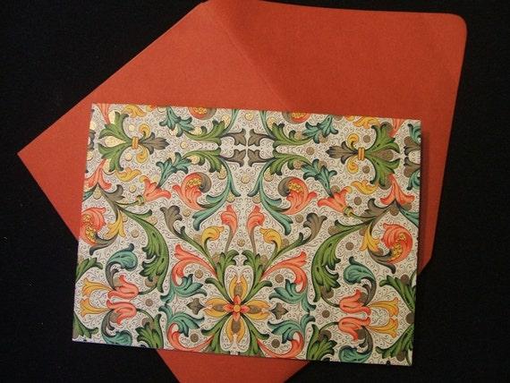 Notecards - Rossi Florentine -Tiled - (Set of 10)