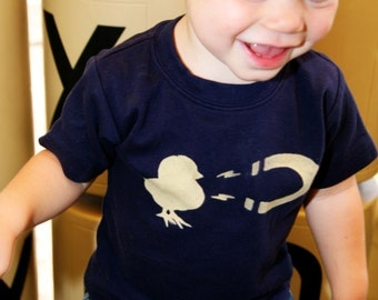 Chick Magnet - Toddler Tshirt (No ink) - High Quality shirts - 12m to 8  - click for colors - Free Shipping