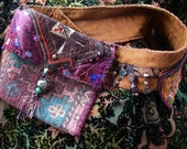NOMADIC HIP-POUCH - Boho, Tribal, one of a kind - Custom Order Only