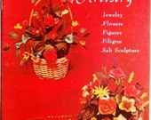 Vintage Bread Dough Artistry Craft Book - Jewelry, Flowers, Figures, Filigree, Salt Sculpture