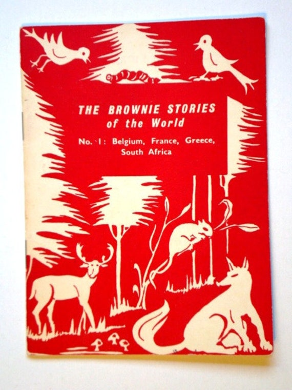 Vintage The Brownie Stories of the World No.1: Belgium, France, Greece, South Africa - WAGGGS