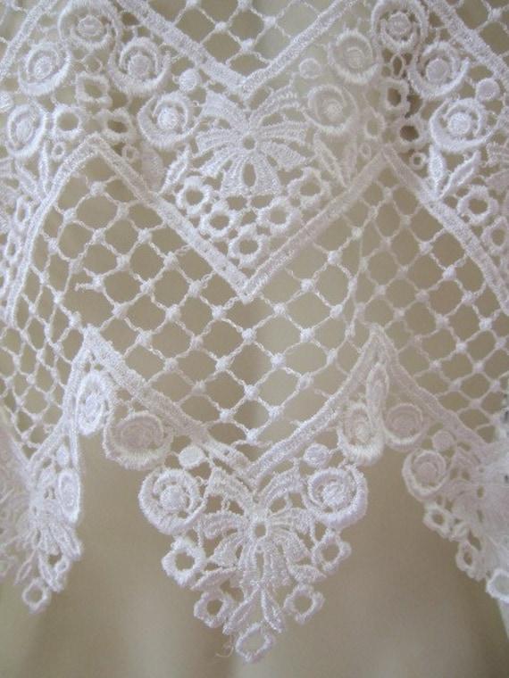Vintage Lace Lace Fabric Lace Trim Venise Lace 4 55 Yards