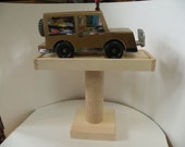 Handcrafted Cub Scout, Boy Scout Pinewood Derby Race Car Display Shelf Kit