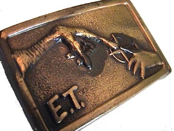 SALE ET vintage belt buckle