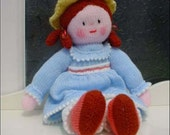 Beautiful HANDMADE DOLL - Ready To Play With You - Knitted