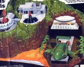 HOW TO MAKE THUNDERBIRDS TRACY ISLAND MODEL pullout from THE SUN