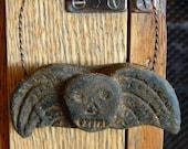 Skull Angel Primitive Ornie  #310