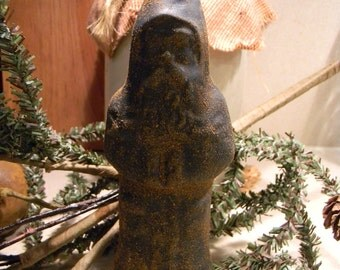 Primitive Blackened Beeswax Belsnickel  #410