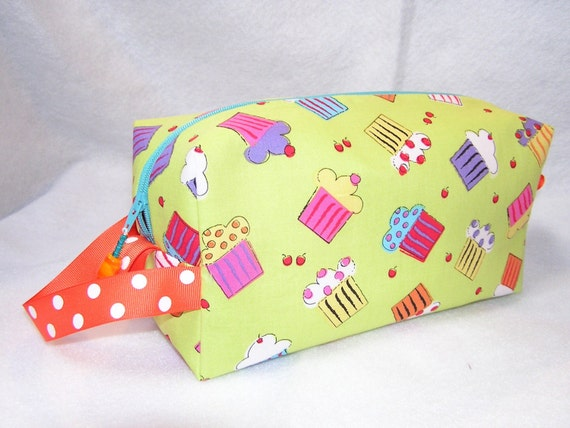 Sweet Cupcakes Project Bag