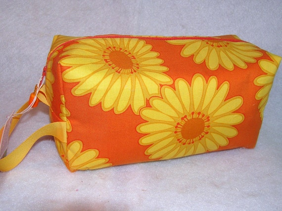 Big Yellow Daisies Project Bag