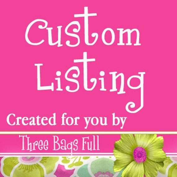 Custom Listing for Spreider