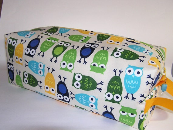 Blue Owls Sweater Bag
