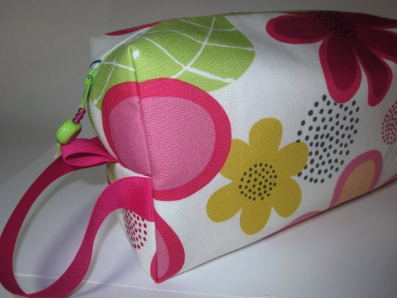 Notus Cream Floral Project Bag