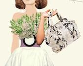 PRINT \/ Buy 1 get 2 \/ My Prada Bag 8x10