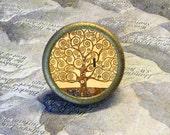 TREE OF LIFE by Gustav Klimt TIE TACK / PIN or Ring
