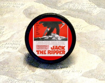 JACK the RIPPER  tie tack or adjustable ring