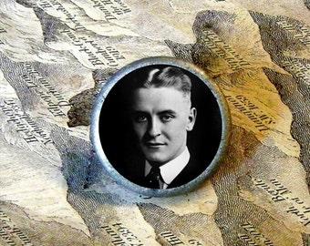F Scott Fitzgerald Tie Tack or Ring