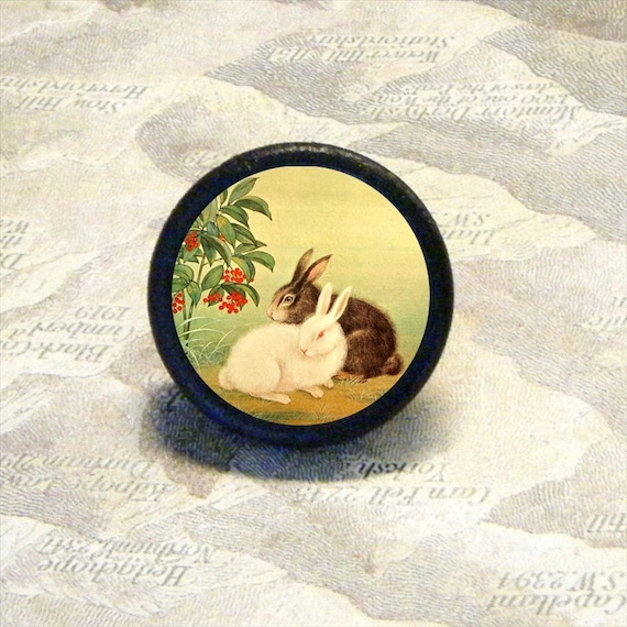 Bunny Love Tie Tack or Ring