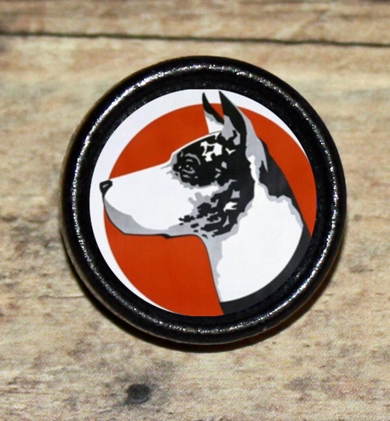 Great Dane Dog Tie Tack or Ring or Brooch pin or Pendant