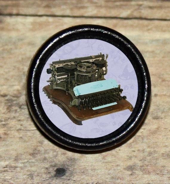 Antique laptop TYPEWRITER Tie Tack or Ring or Brooch pin or Pendant