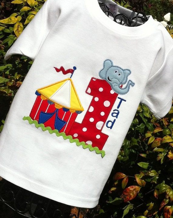 Boys Carnival Themed Birthday Shirt