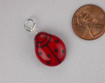 Ladybug Necklace Pendant