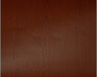 Cherry Wood Grain Decorative Contact Paper (FR1878)