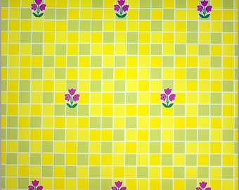 Yellow Tile contact Paper 50cm x 2m(FR290)
