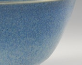 Man Bowl - Bright Sky Blue glaze