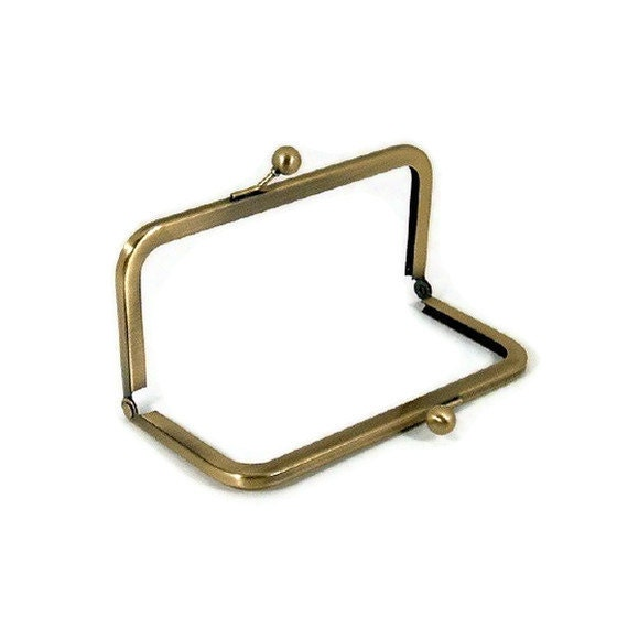 Reserved for Frieda 6x3 Antique Brass Purse Frame Limited Supply