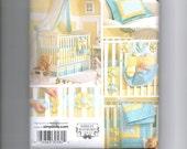 Simplicity pattern 3795 Daisy trim nursery decor