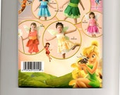Disney Fairies costume pattern size 1/2 - 4 S2872