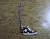 Converse Shoe Zipper Pull/Cell Phone Charm