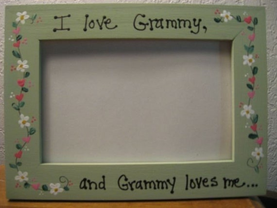 Mother S Day Frame I Love Grammy Personalized Frame