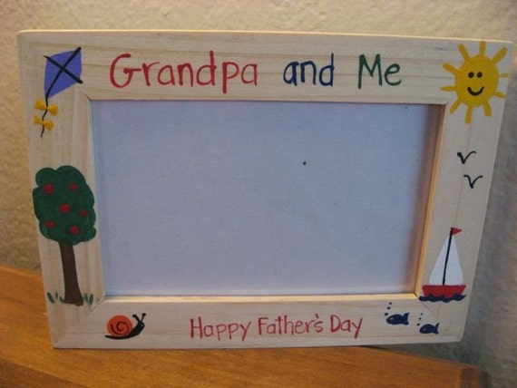 Father S Day Photo Frame Grandpa And Me Fathers Day