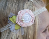 Super SWEET vintage inspired flower headband