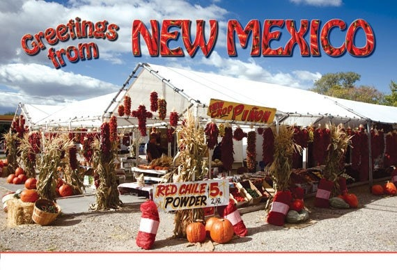 Postcard: Greetings from New Mexico