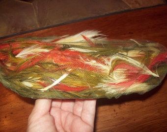 Vintage Pheasant Feathered Hat-Christine Original