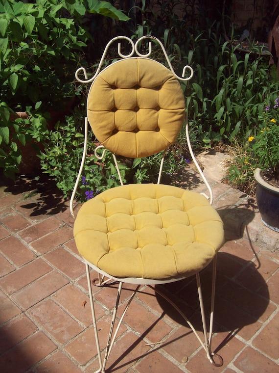 Vintage Tufted Vanity Chair Teena Original