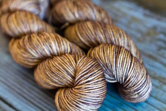 silk - superwash merino 50/50 'barnwood'