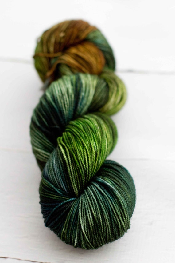 Merino Nylon Sock Yarn - Marsh Series