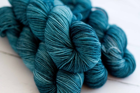 Superwash Merino DK 'north sea'