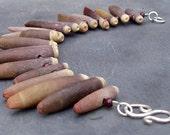 sea urchin bracelet: spiny fringe