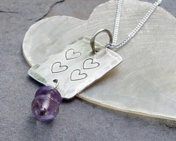 mini heart dog tag for 4