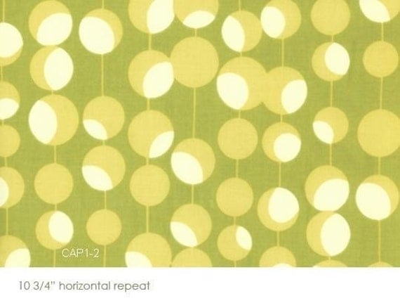 Amy Butler Moss Martini - Midwest Modern Collection, 1 FAT QUARTER