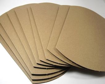 Plain Kraft Pillow Boxes, 4x4.5x1.5  - Wholesale, 50 boxes