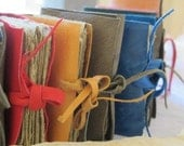Little leather journals