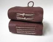 Mini Leather Books - Set of two