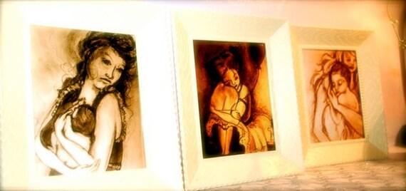 Art Print Gift Set: 3 4x6 Prints.