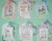 Darling Easter Tags with Children